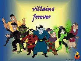 Villains forever by Dark337