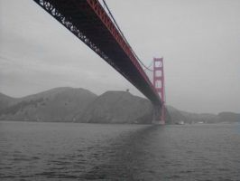 Golden gate BWRed Edit by expressive87