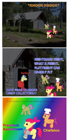 MLP Comic:  Hit Close To Home by elnachato