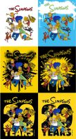 Simpsons 20th Poster Dealy by real-faker