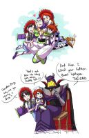 The Lightyears...and Grandpa by YoukaiYume