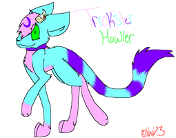 Trickster Howler Basic Ref by Howling-Wolf123
