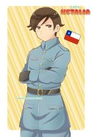 Chile - Latin Hetalia by HeleMinimanimo
