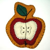 September Magnet - Apple by UrsulaPatch