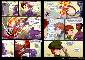 RDiVC - Pages 11-12 by TamarinFrog