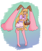 The Easter Lopunny by Usa-Ritsu