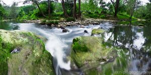 River Panorama by AXNLphotography