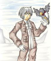 A Boy and his Bird APH by middletails