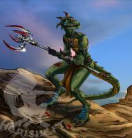 Reptile: hunting grounds by Herisheft
