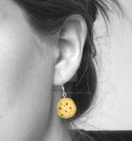 Cookie Dangle Earrings 2 by PetitPlat