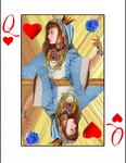 Queen of Hearts by NocturnalButterfly