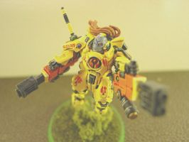 Commander Shadowsun 4 by Drknght61
