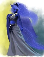 dances with luna Color study by hattonslayden