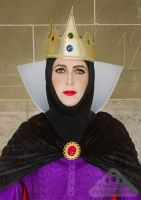 Evil queen from Snow White cosplay close up by chamellephoto