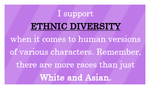 Ethnic Diversity Stamp by I-Dream-of-Speed