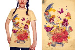 Papillon Ache Shirt by choppre