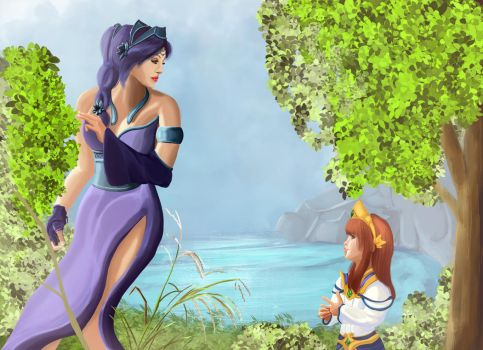 Aphrodite and Scylla by Emisys