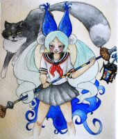 Blade and Soul by BlueNightButterfly