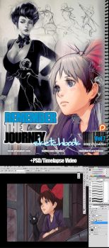 REMEMBERtheJOURNEY Sketchbook Vol.7+PSD+Video $5+ by kasai