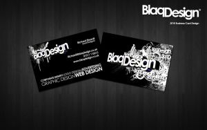 Blaq Design 2010 Business Card by blaqdesign