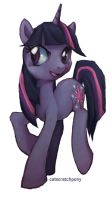 Twilight Sparkle by catscratchpony
