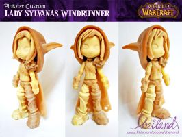 Pinky:st Lady Sylvanas custom by Nestery