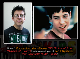 McLovin Reminds me of Telly from Kids by LittleGreenGamer