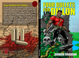 Four Bullets for Dillon - Book Cover by Snizitch