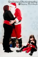 I saw Mommy kissing Santa Clause by RadiancePhotography1