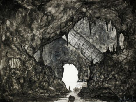 Light at the end of the tunnel by Bluefingers