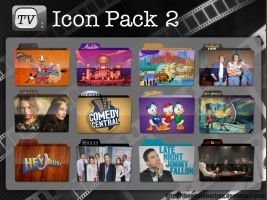 TV Icon Pack 2 by thewholehorizon