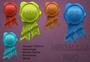 Medallas PNG by jessy-izan