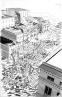 FEAR ITSELF HOMEFRONT 5 Pg1 BW by mikemayhew