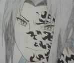 Sasuke- Curse Mark by Britney151