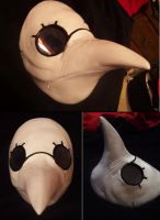 Finished ACB Doctor mask by AnimeFreakKai