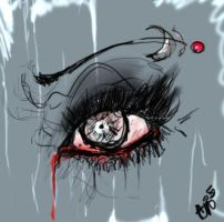 and your bleeding with mascara by TheOppressor