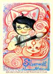 Boy and magic pen by Rinmeothichca