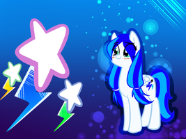 Blue Watery Sparks by Ruby-Sunrise