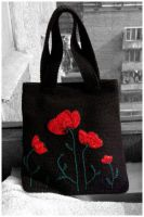 Poppy crochet handbag by Shurka