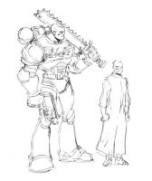 Space Marine Size Comp by Samuca