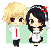 Kaichou wa Maid-Sama by Over16Bit