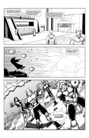 WCL comic test page by Dualmask