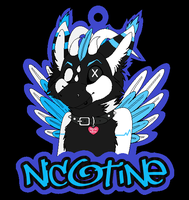 Nicotine badge by AJ-Shep