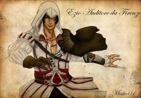 Ezio Auditore da Firenze by mialove01