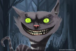Cheshire Cat by Spartan0627