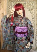 BJD kimono. Hey, lets play! by InarisansCrafts