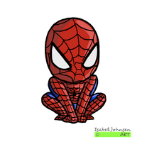 Tiny - Spider-man by issabissabel