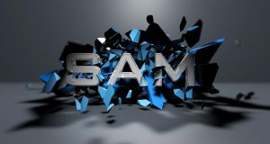 SAM explosion by Samuels-Graphics