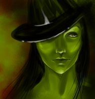 elphaba sketch by artflower