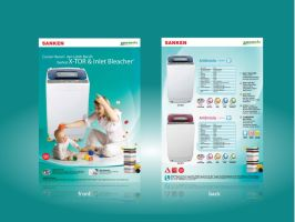 Flyer Washing Machine Ambrosia by dzinc